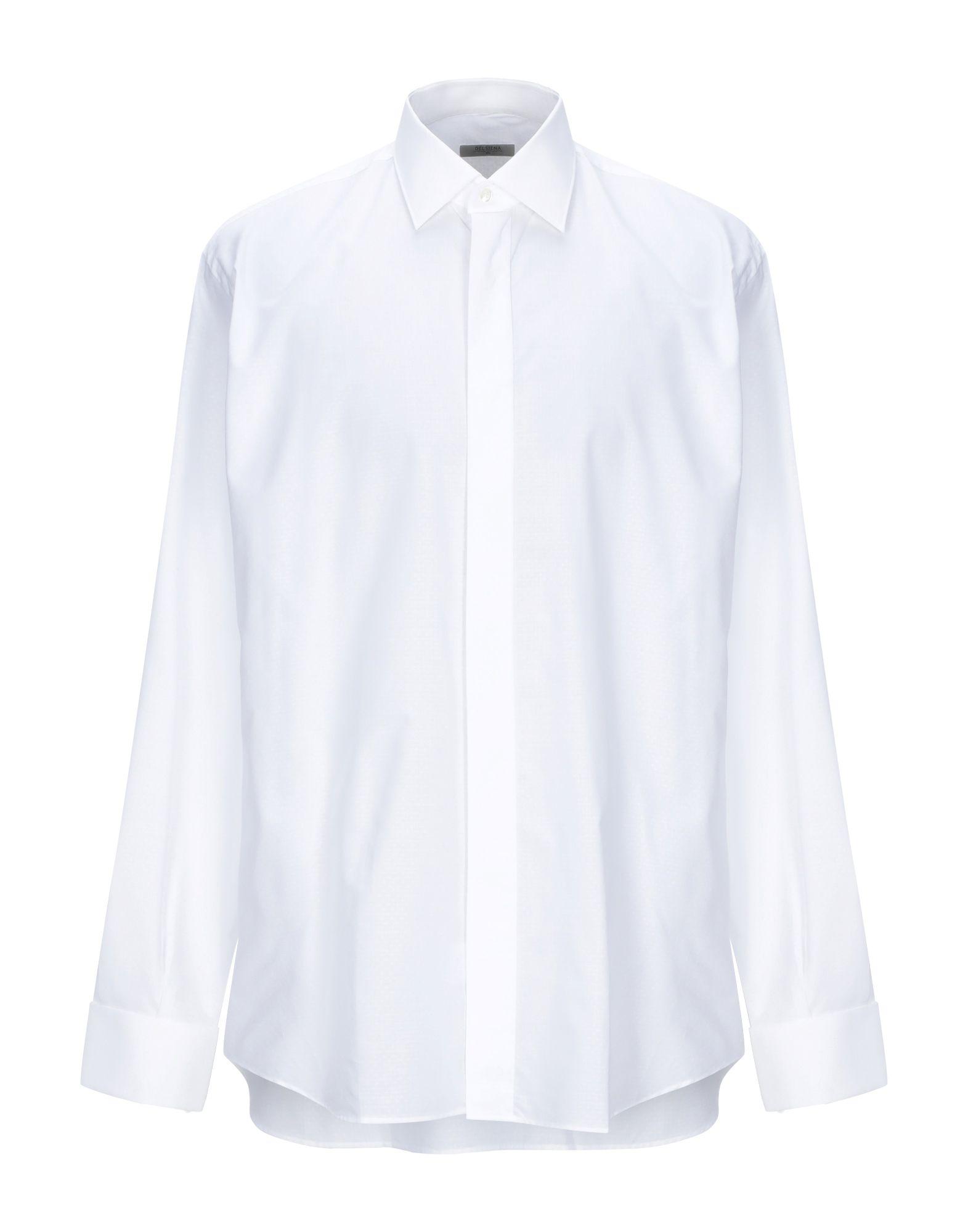 Camicia Tinta Unita Del Siena herren - 38851909IB