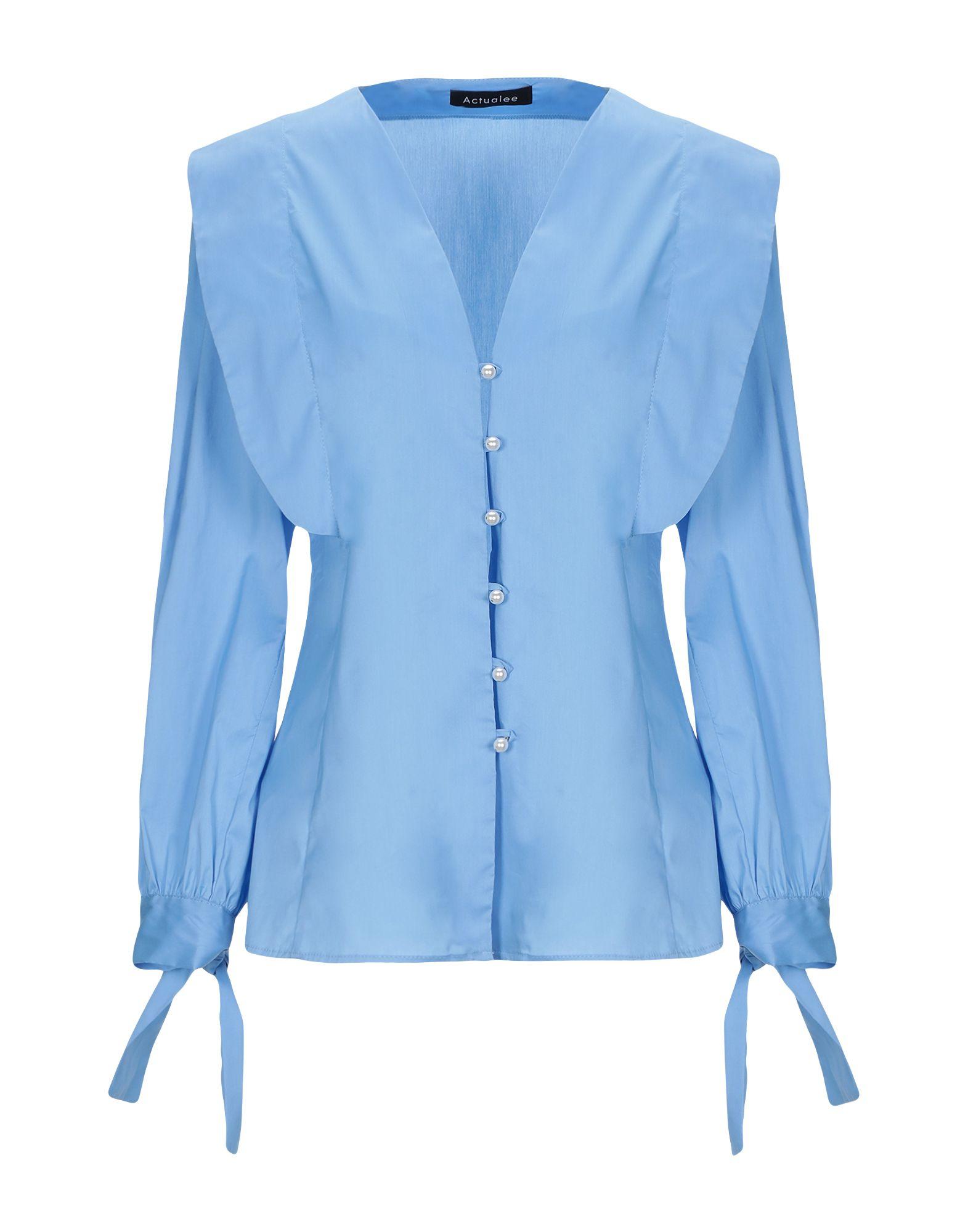 Camicie E Blause Tinta Unita Actualee damen - 38852438SS
