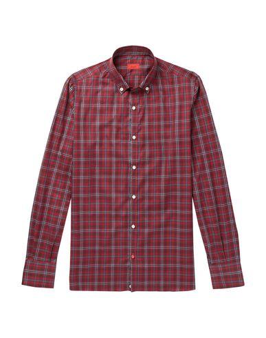 ISAIA - チェック柄シャツ
