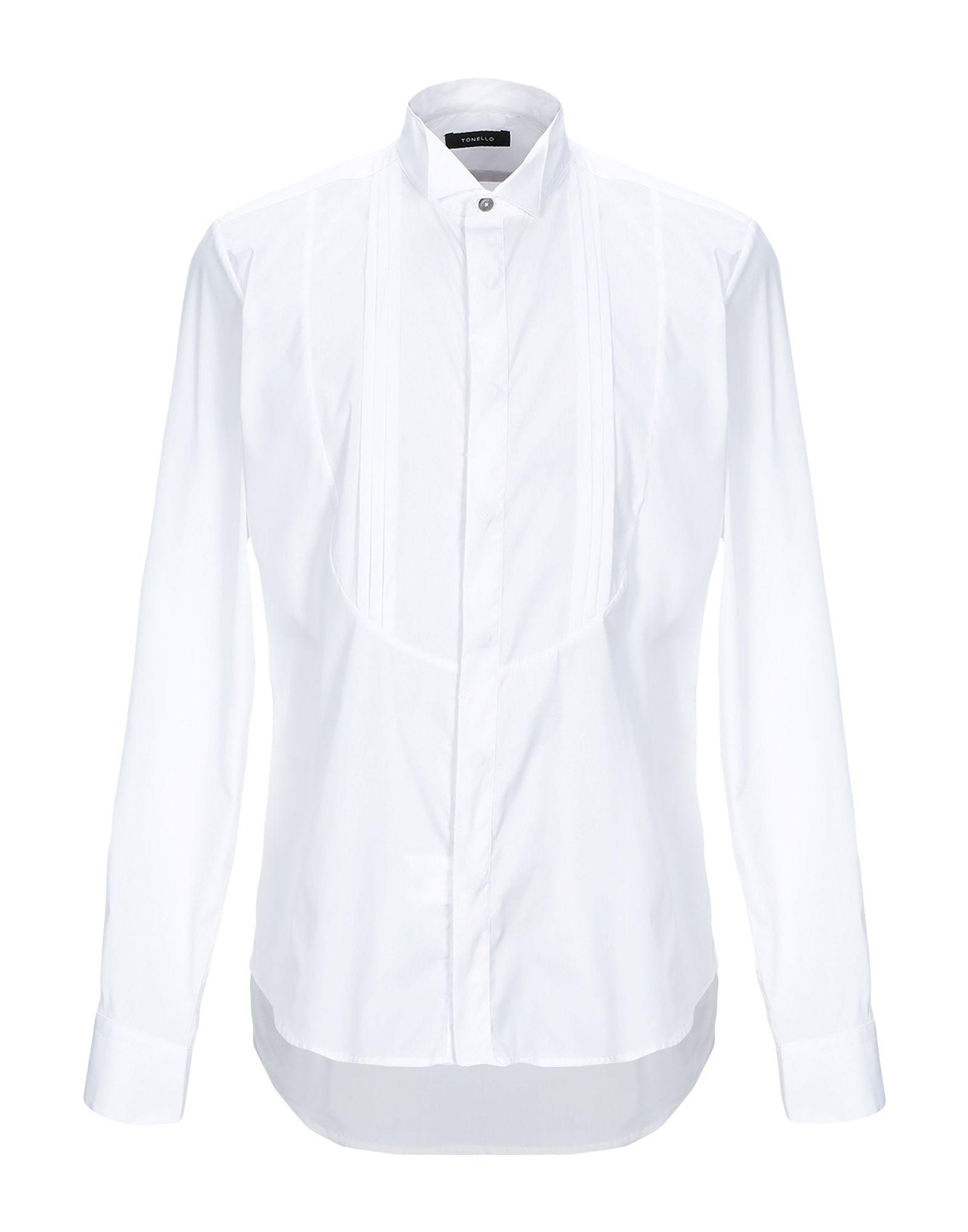 Camicia Tinta Unita Tonello herren - 38853897FT