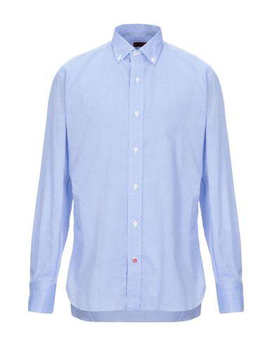 ISAIA - 柄入りシャツ
