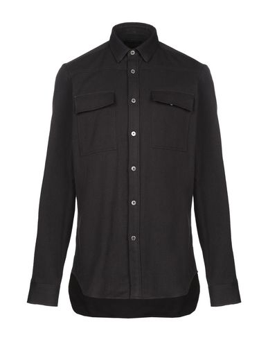 Ann Demeulemeester Solid Color Shirt In Black