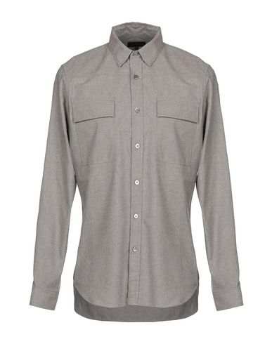 Ann Demeulemeester Solid Color Shirt In Light Grey