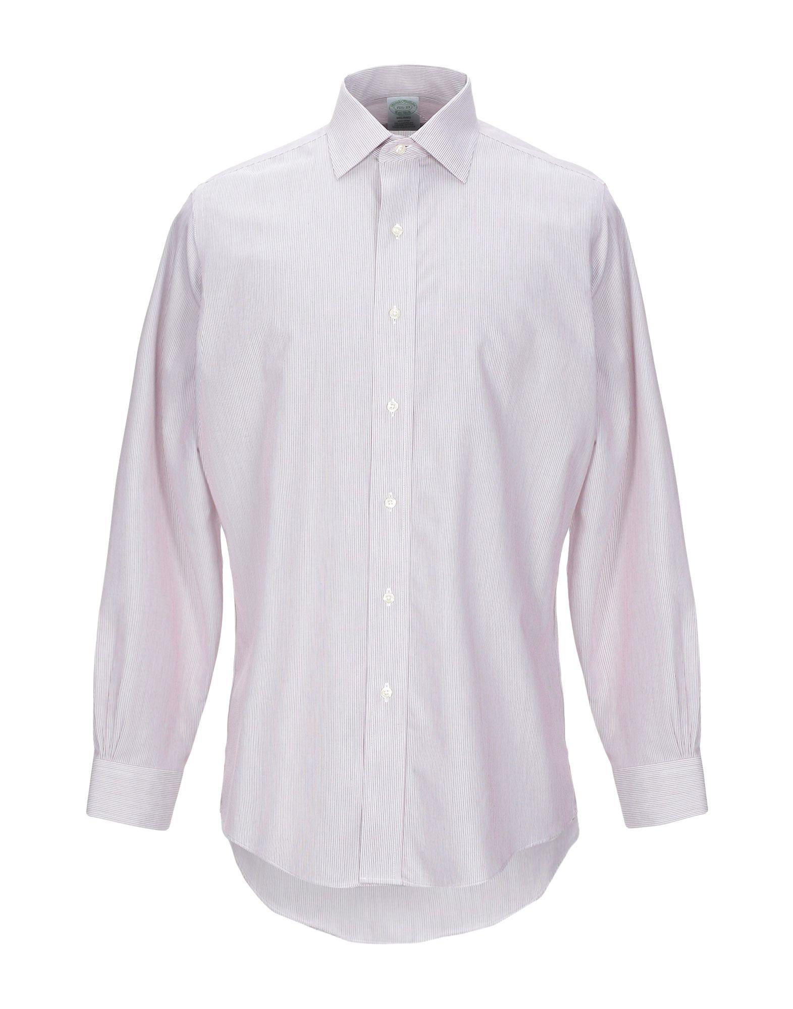 Camicia A Righe Righe Brooks Brossohers uomo - 38855049LE  exklusive Designs