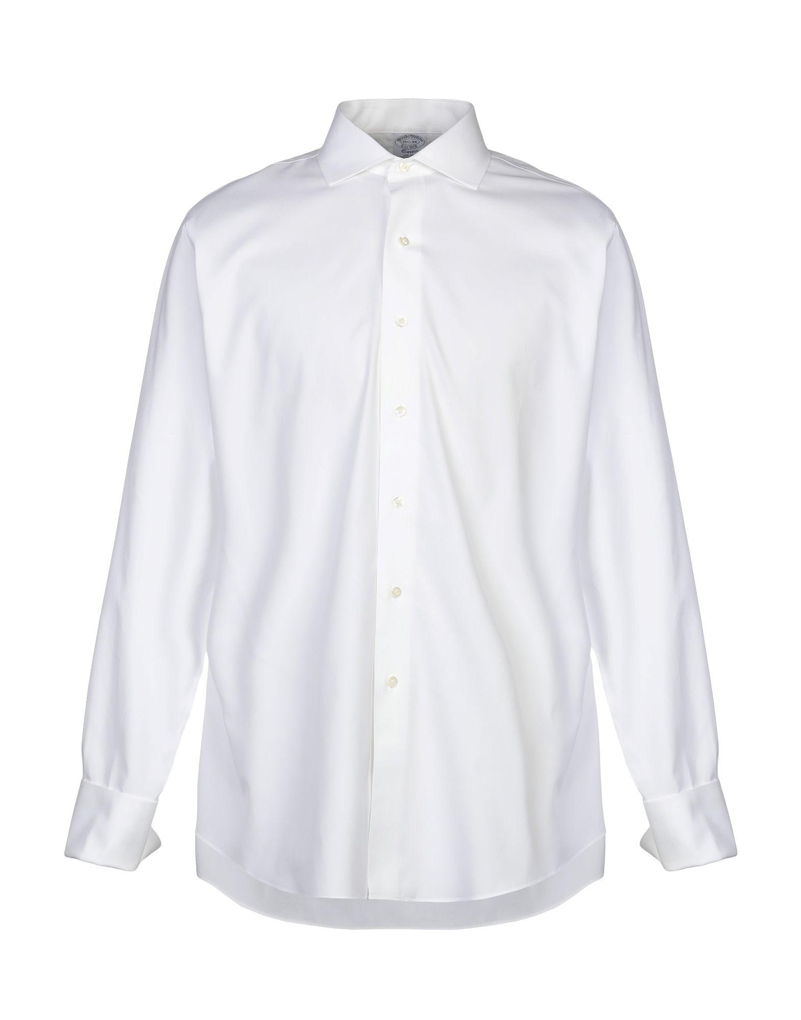 Camicia Tinta Tinta Tinta Unita Brooks Brossohers uomo - 38856031RQ 79a