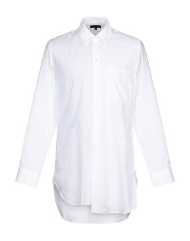 Ann Demeulemeester Solid Color Shirt In White