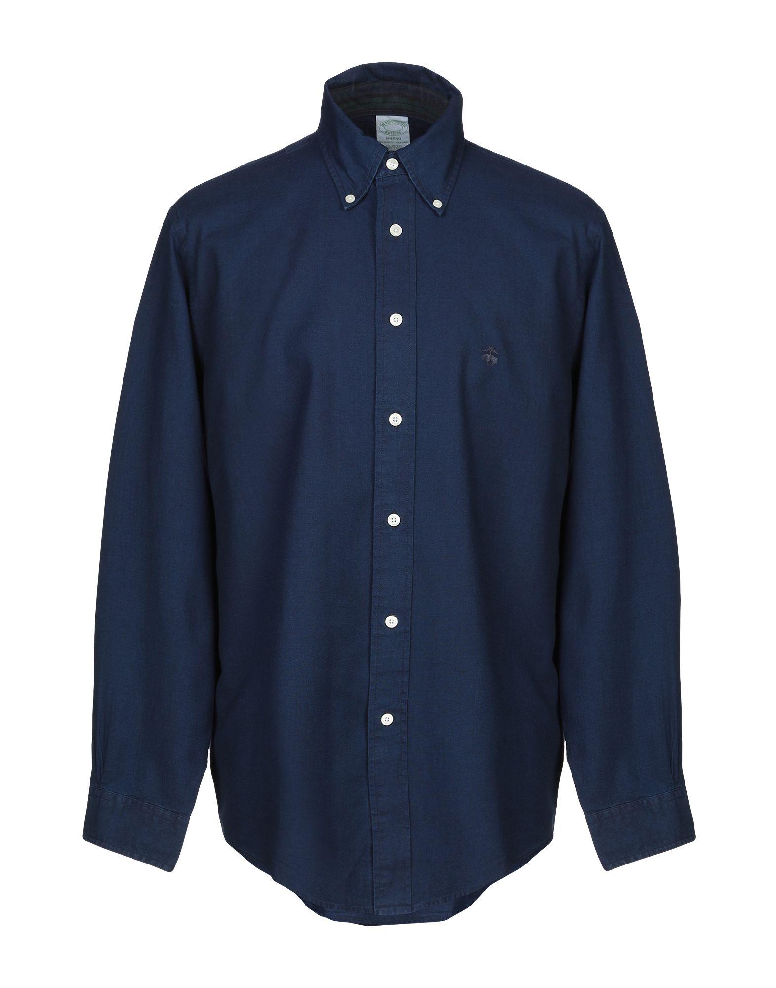 Camicia Tinta Unita Brooks Brothers herren - 38856463QO