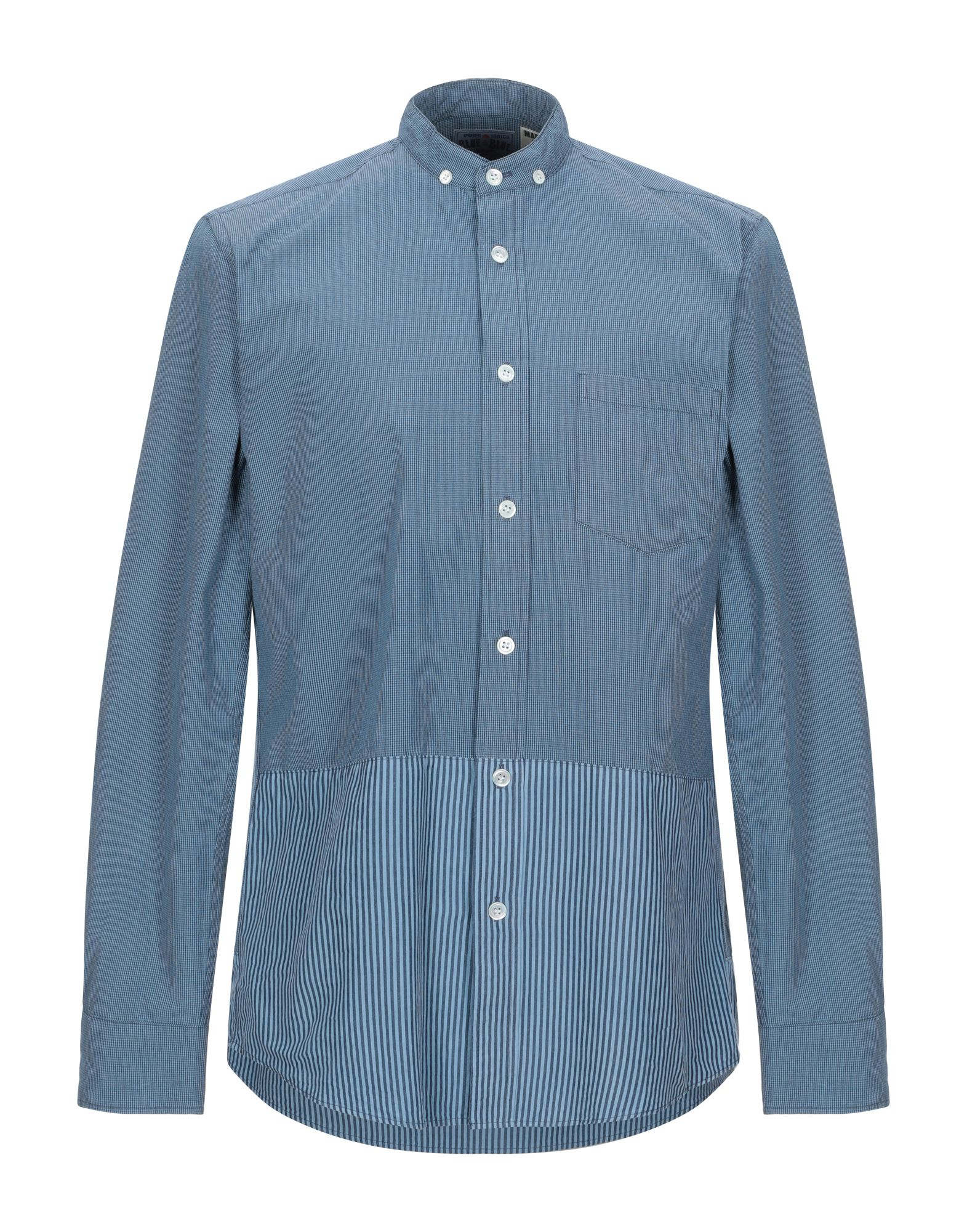 Camicia A Quadri blu blu  Japan uomo uomo - 38858505EU