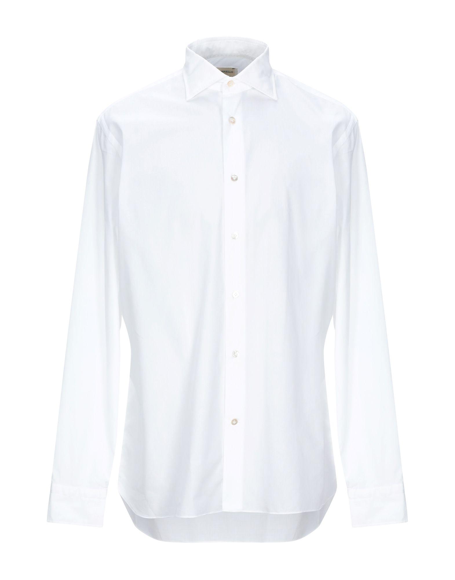 Camicia Tinta Unita Borriello Napoli herren - 38859114JV