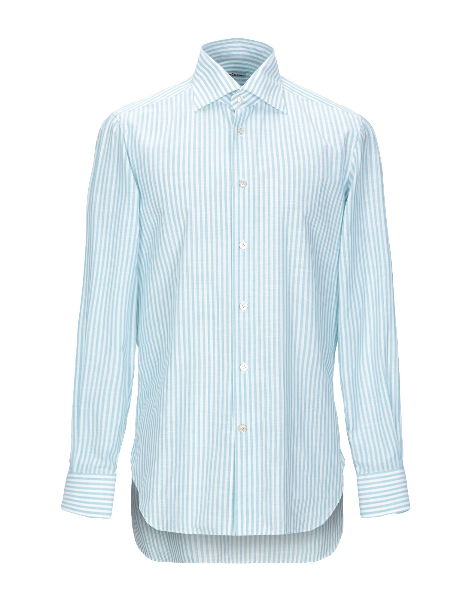 Camicia A Righe Righe Kiton uomo - 38861120PK  Online einkaufen