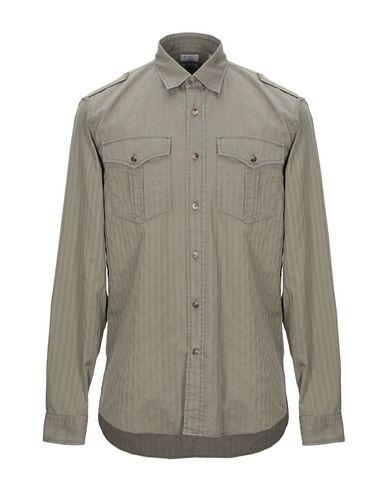 BRUNELLO CUCINELLI - Einfarbiges Hemd