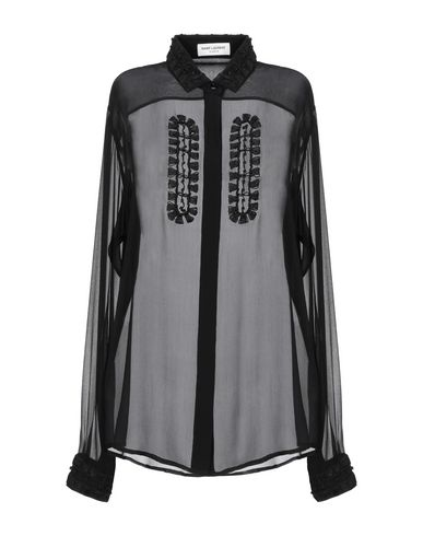 Saint Laurent T-shirts Silk shirts & blouses
