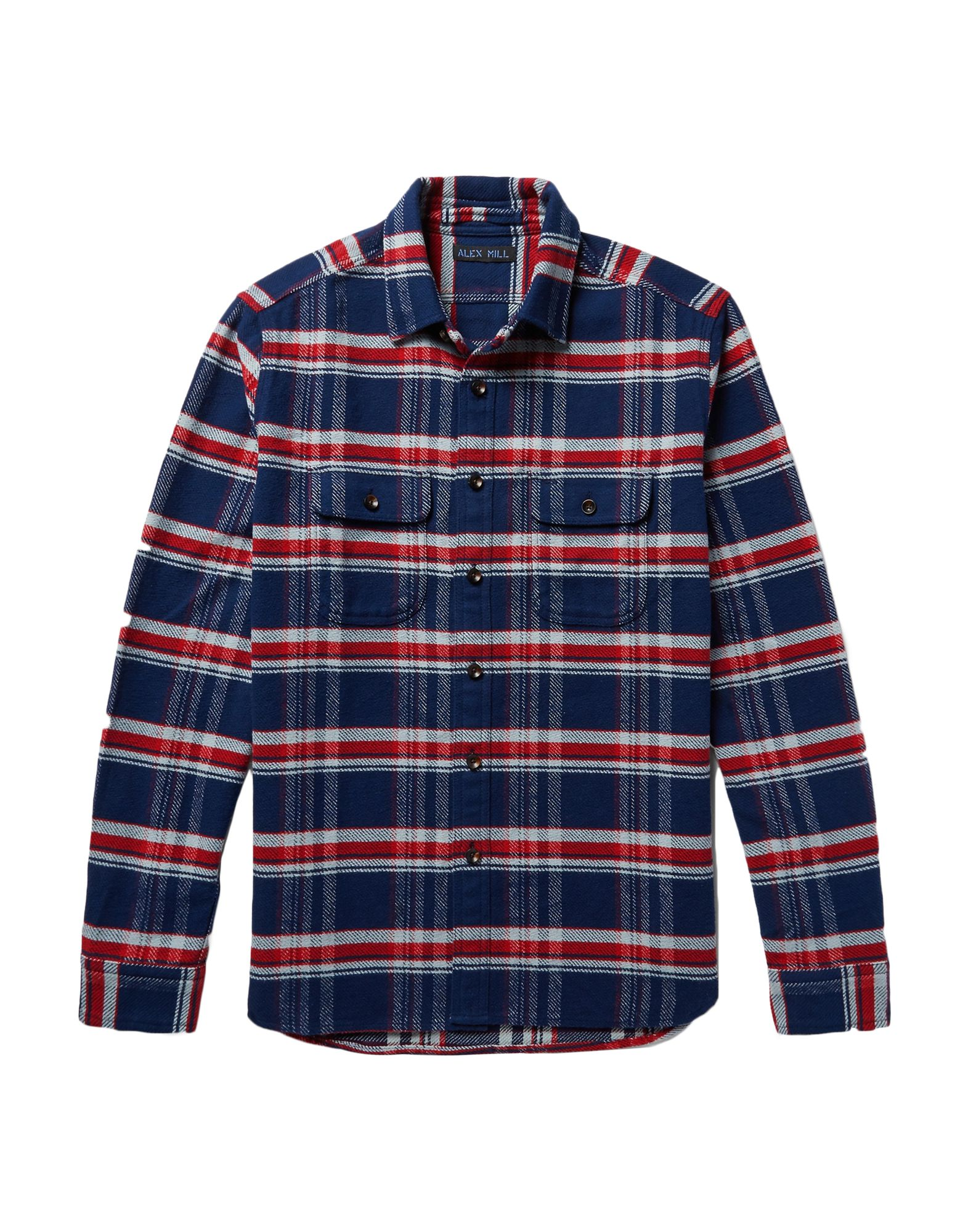 Camicia A Quadri Alex Mill herren - 38861541QU