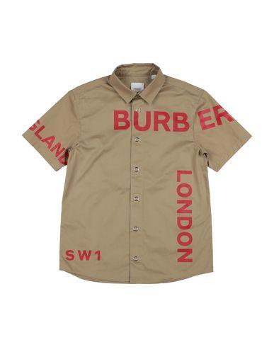 BURBERRY - Chemise de couleur unie
