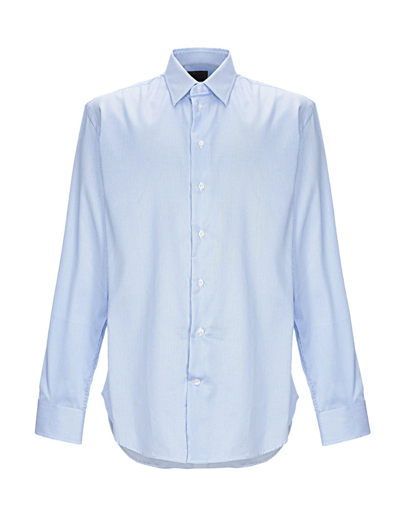 Camicia A Righe Armani Collezioni herren - 38863371ED
