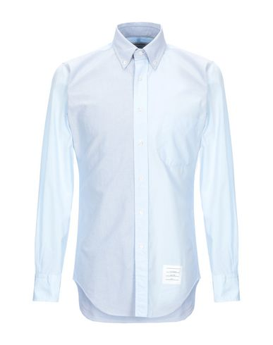 THOM BROWNE - Solid color shirt