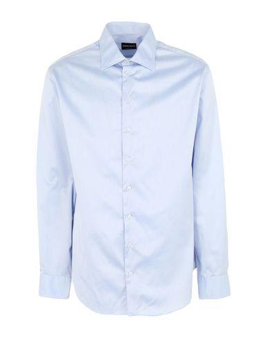 Giorgio Armani T-shirts Solid color shirt