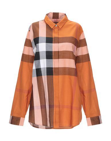 Burberry T-shirts Checked shirt