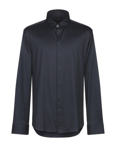 Emporio Armani Shirts Solid color shirt