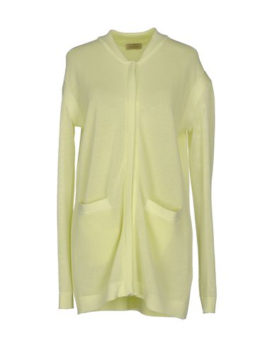 MAISON ULLENS Cardigan in Light Yellow