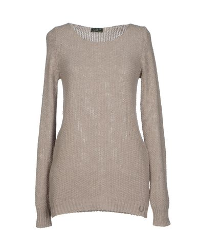 Fred Perry Sweater In Dove Grey