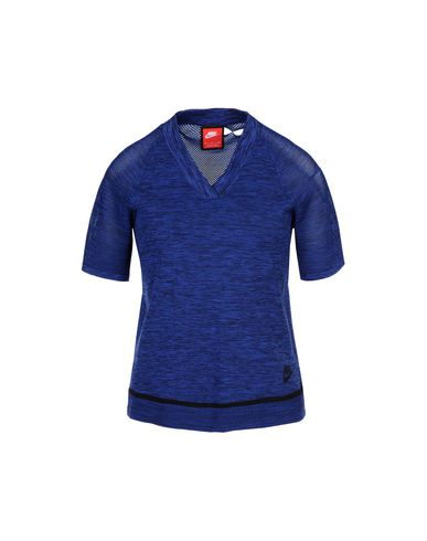 NIKE W NSW TCH KNT TOP Pullover