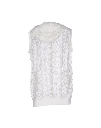JUST CAVALLI HOODED SWEATSHIRT, WHITE
