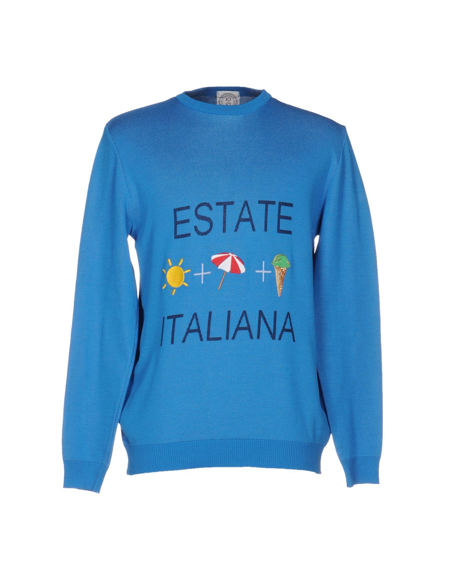 Pullover 10X10 Anitaliantheory Uomo - Acquista online su