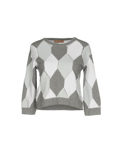 VICEDOMINI Sweater in Light Grey