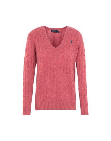 b7d058781 Polo Ralph Lauren Cable-Knit V-Neck Sweater - Jumper - Women Polo ...
