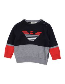 5bc6e06a38 24 Junior 0 Armani Pullover Neonato Mesi Abbigliamento Bambino cfWBP6H
