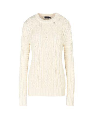POLO RALPH LAUREN Aran-Knit Buttoned Sweater Pullover
