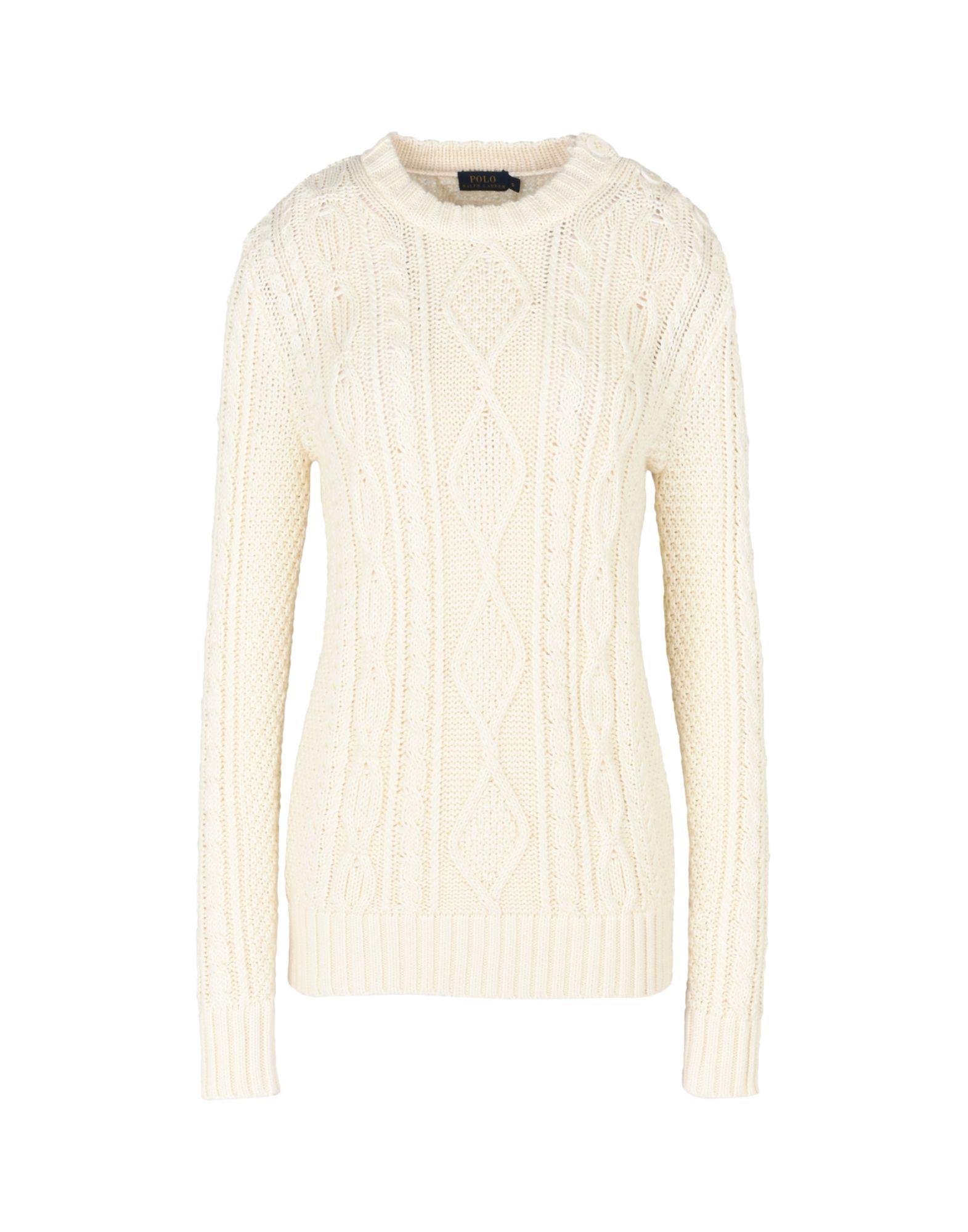 Pullover Polo Ralph Lauren Aran-Knit Buttoned Sweater - Donna - Acquista online su b2FCRlY