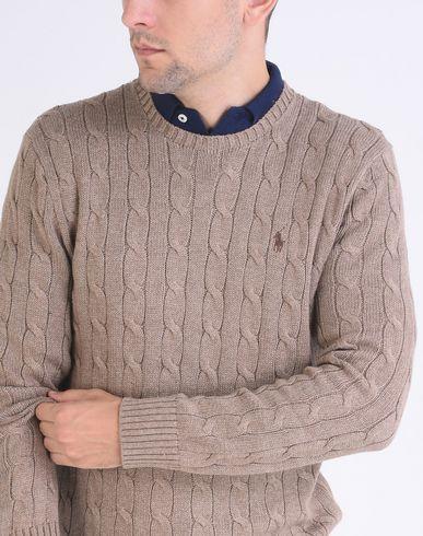 Polo Ralph Lauren Kabel Bomullsgenser Jersey klaring utløp butikk rJkp5tyo