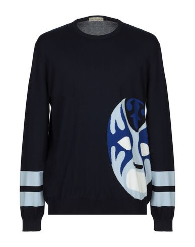 LUCA LARENZA Sweater in Dark Blue