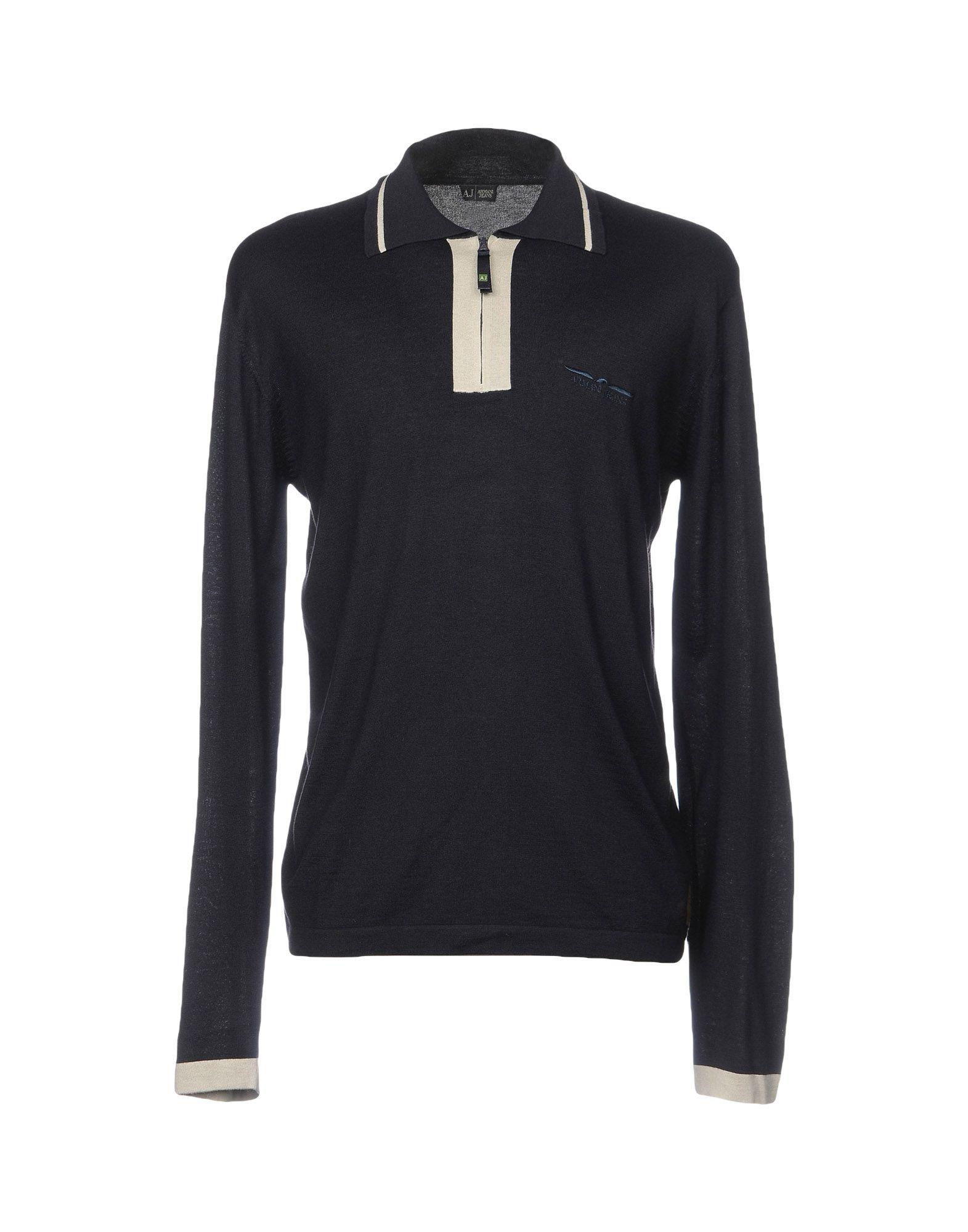 Maglia Con Zip Armani Jeans Uomo - Acquista online su