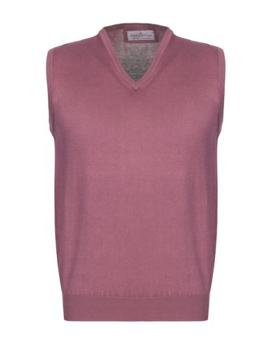 DELLA CIANA Sleeveless Sweater in Mauve