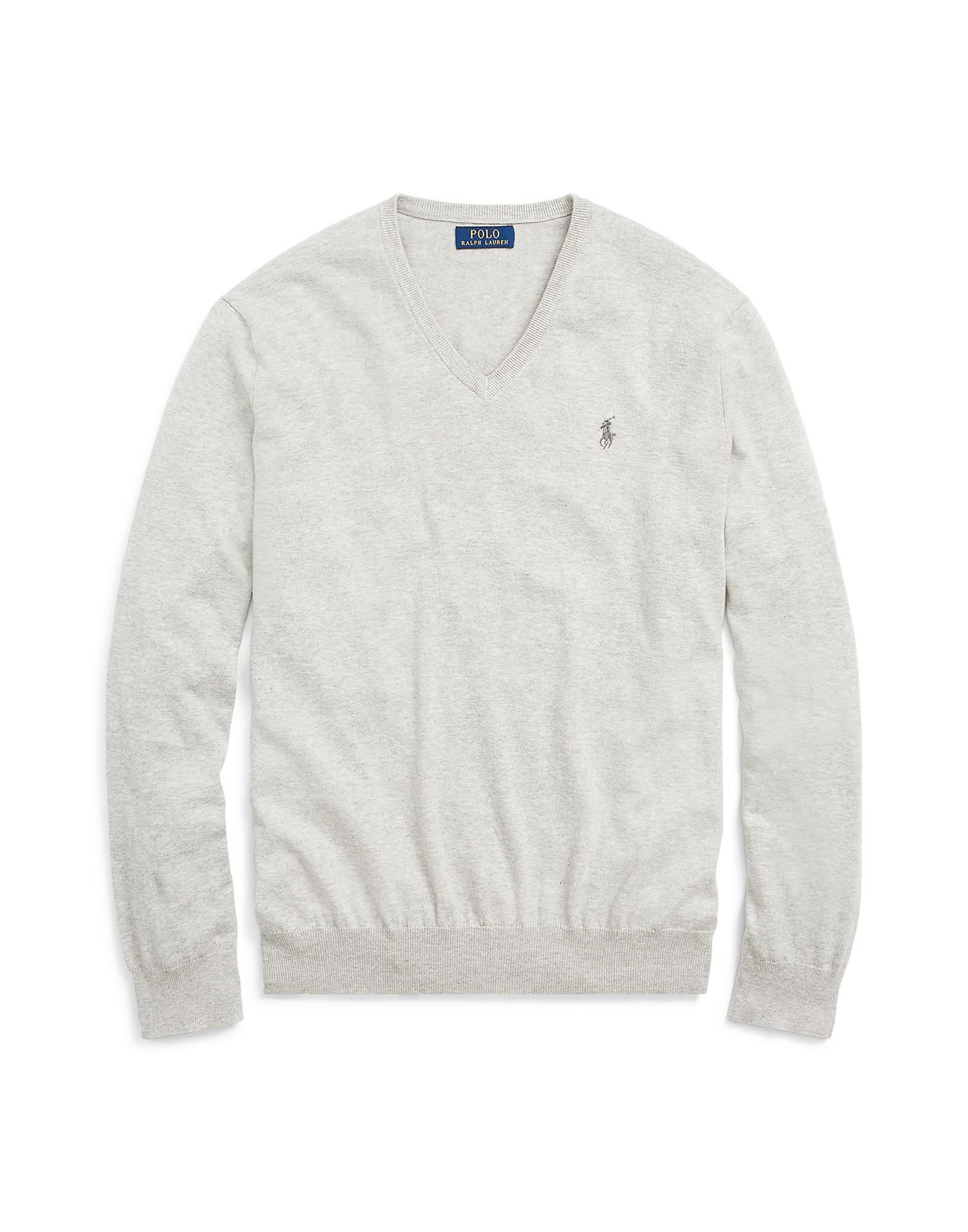 Pullover Polo Ralph Lauren Pima Cotton Sweater - Uomo - Acquista online su