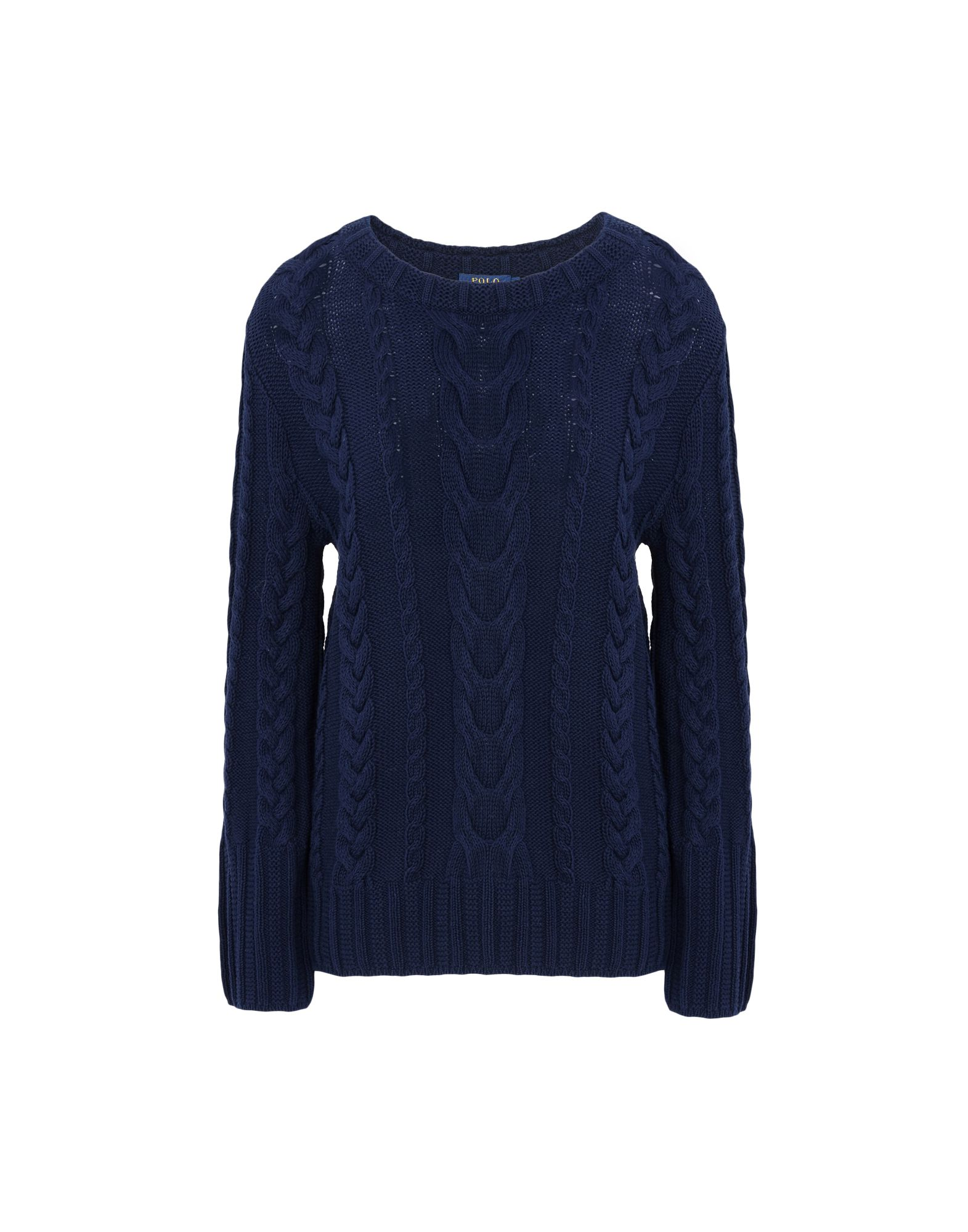 Polo Ralph Lauren Cotton Texture Sweater - Jumper - Women Polo Ralph ...