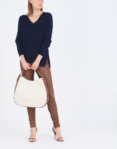 POLO RALPH LAUREN Cable Side Slit Sweater Jersey
