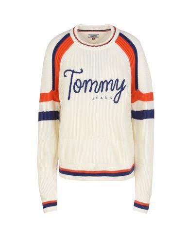 c5a05c38ee09 Tommy Jeans Tjw Cn Ski Sweater L S 18 - Sweater - Women Tommy Jeans ...