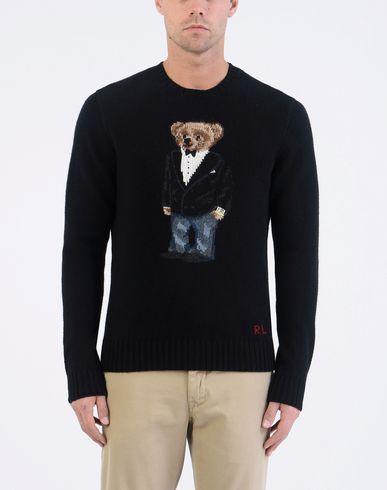 POLO RALPH LAUREN Bear Wool Sweater Pullover