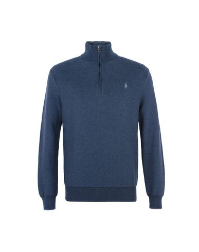 POLO RALPH LAURENPima Cotton Half Zip Sweaterタートルネック