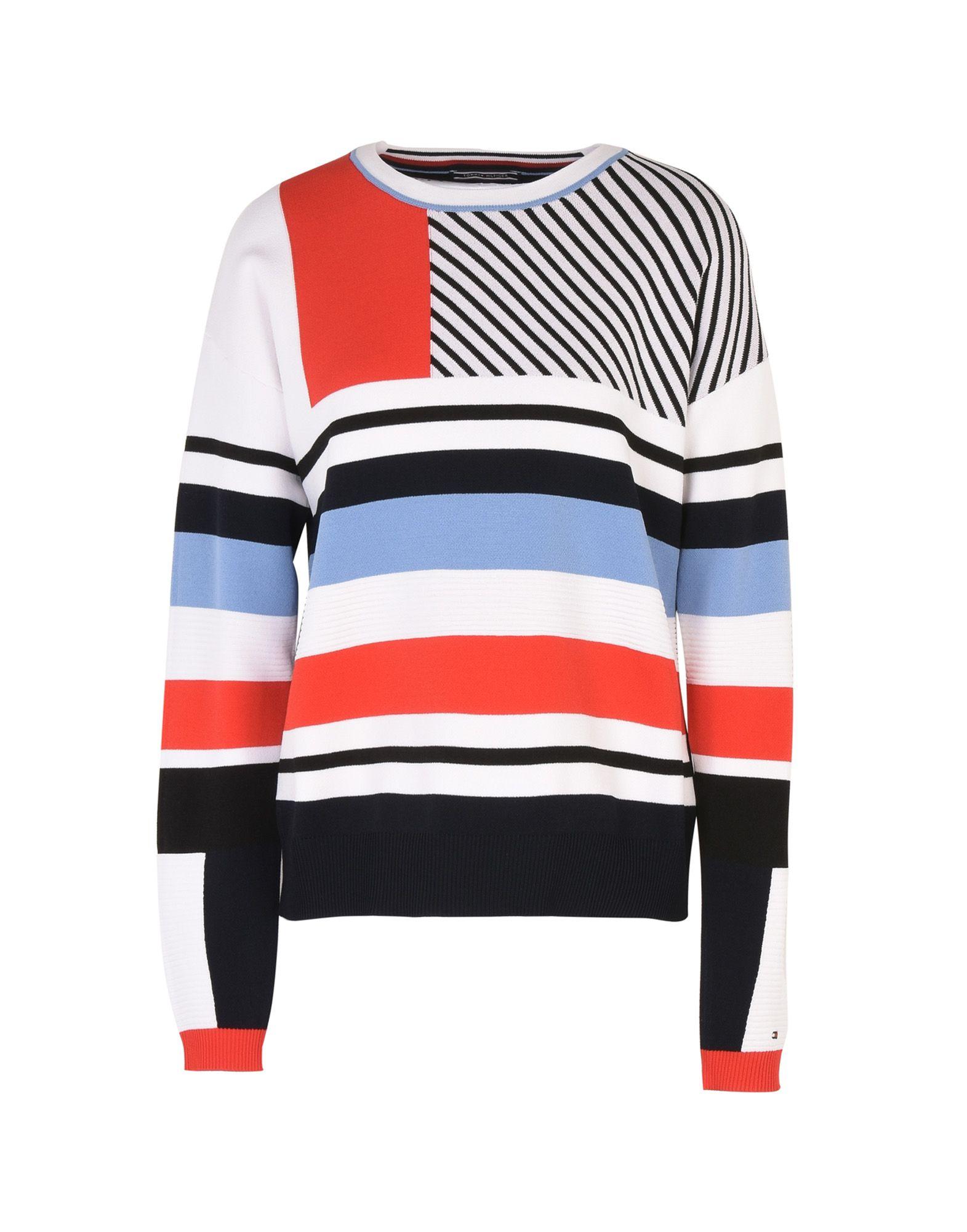 Pullover Tommy Hilfiger Pilaux Graphic C-Nk Swtr - Donna - Acquista online su yoPtOgQg
