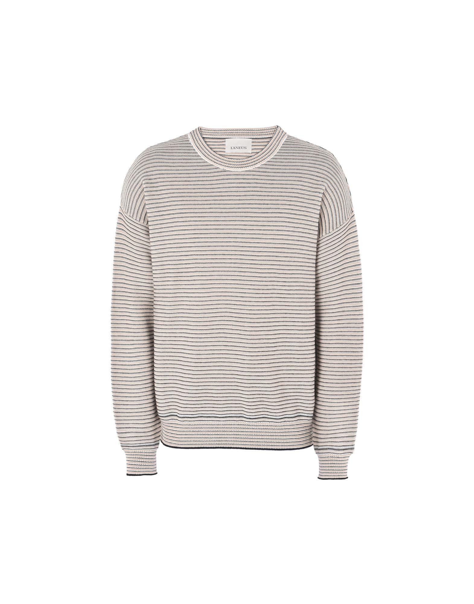 Pullover Laneus Girocollo Millerighe - Uomo - Acquista online su