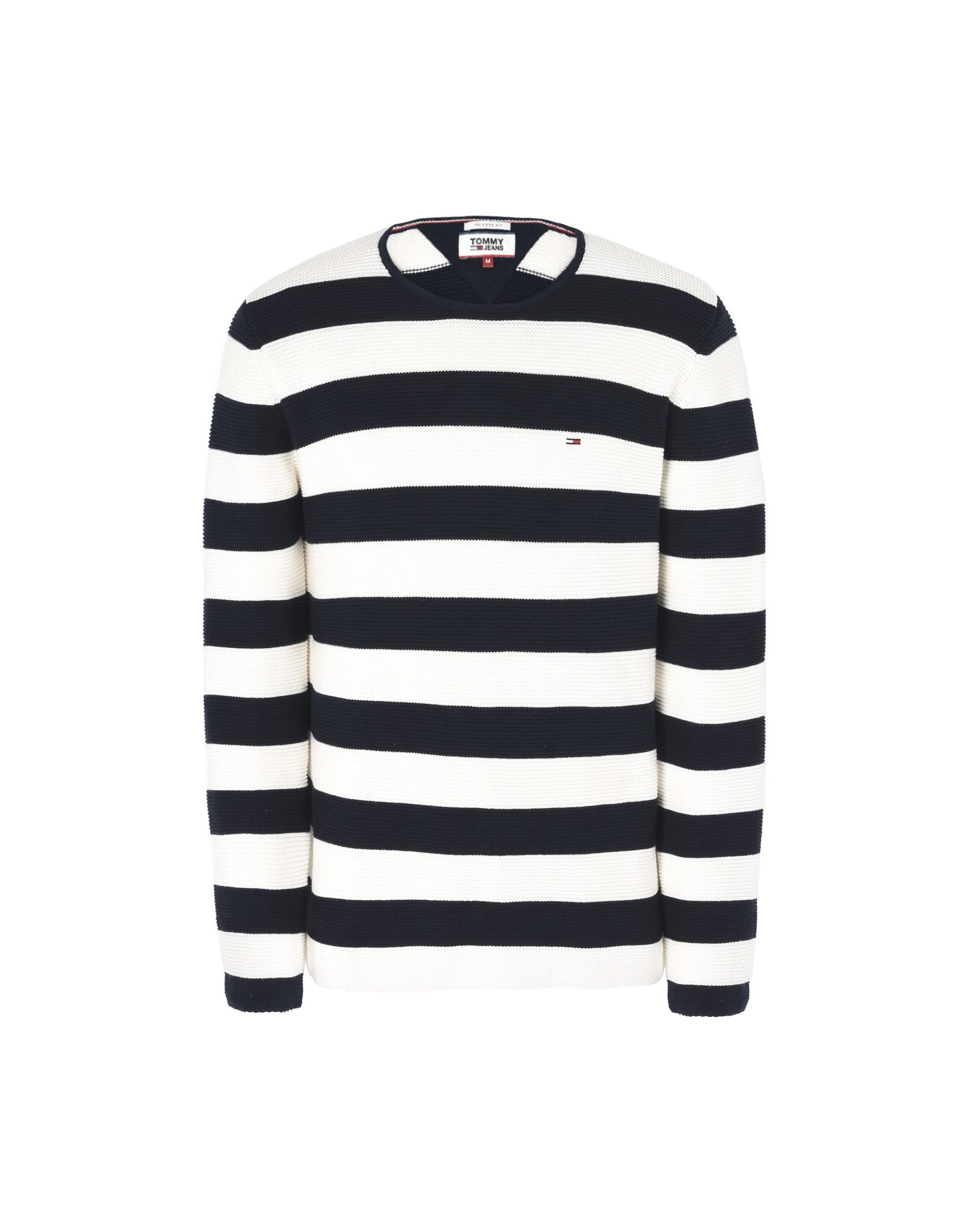 Pullover Tommy Jeans Tjm Stripe Sweater - Uomo - Acquista online su
