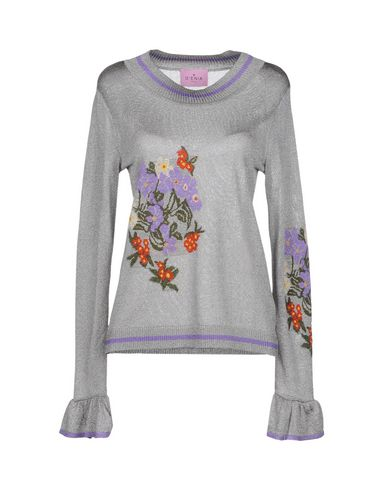 D'ENIA Sweater in Light Grey
