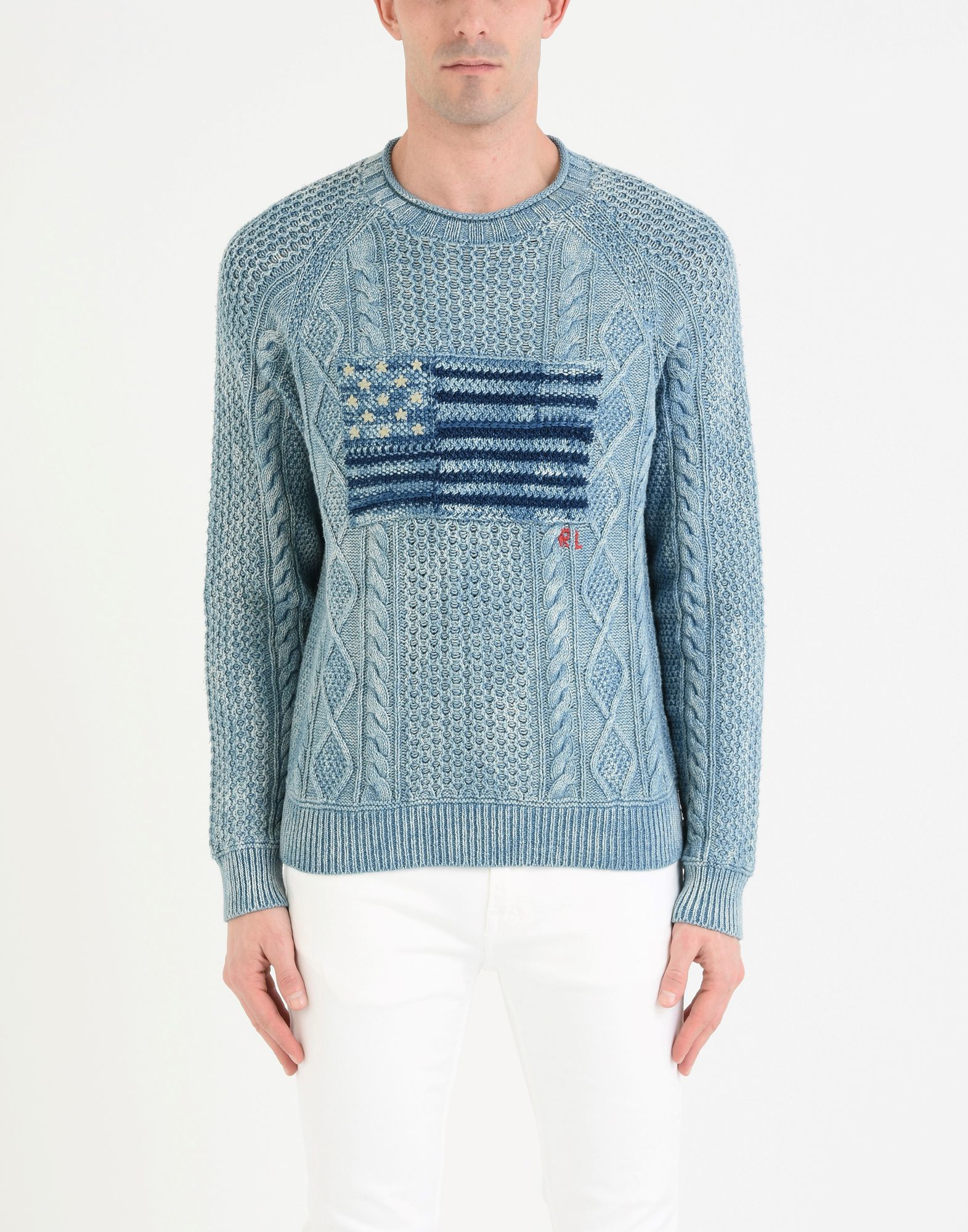 Pullover Polo Ralph Lauren The Uomo Iconic American Flag Sweater - Uomo The - 39862301PA 32aae9