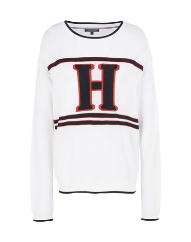 211f55ac0a3301 Tommy Hilfiger Tolbia Graphic Swtr - Sweater - Women Tommy Hilfiger ...