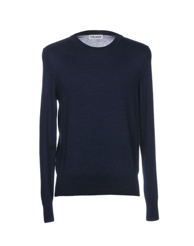 TRÈS BIEN Sweater in Dark Blue